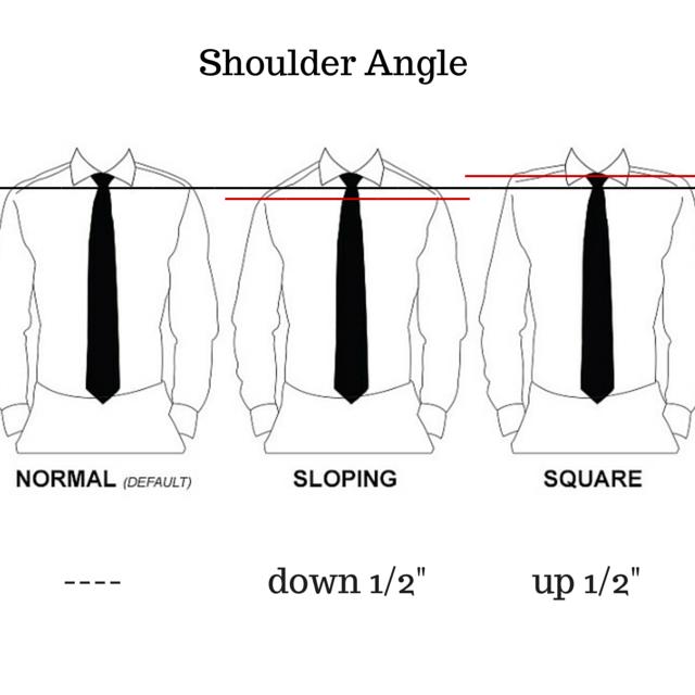 Shoulder angle