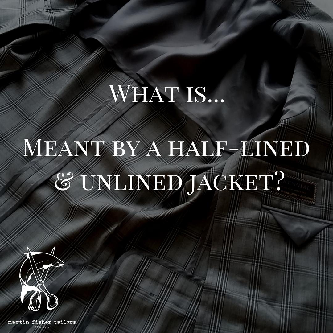 WIW#26 - unlined jackets
